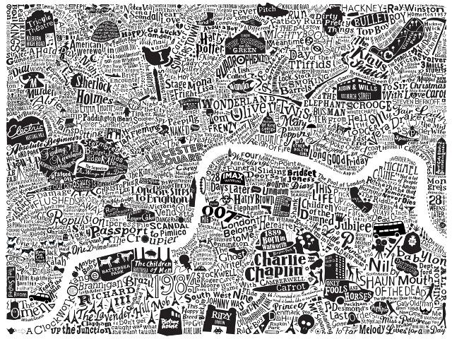 london film map dex a graphic artist in london